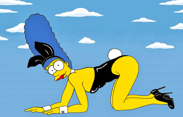 See Marge Simpson As The World's Most Famous Fashion Icons