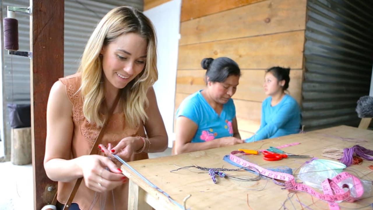 VIDEO | Lauren Conrad's business is empowering women around the world | Fast Company