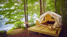 You Have To See This luxury camping setup