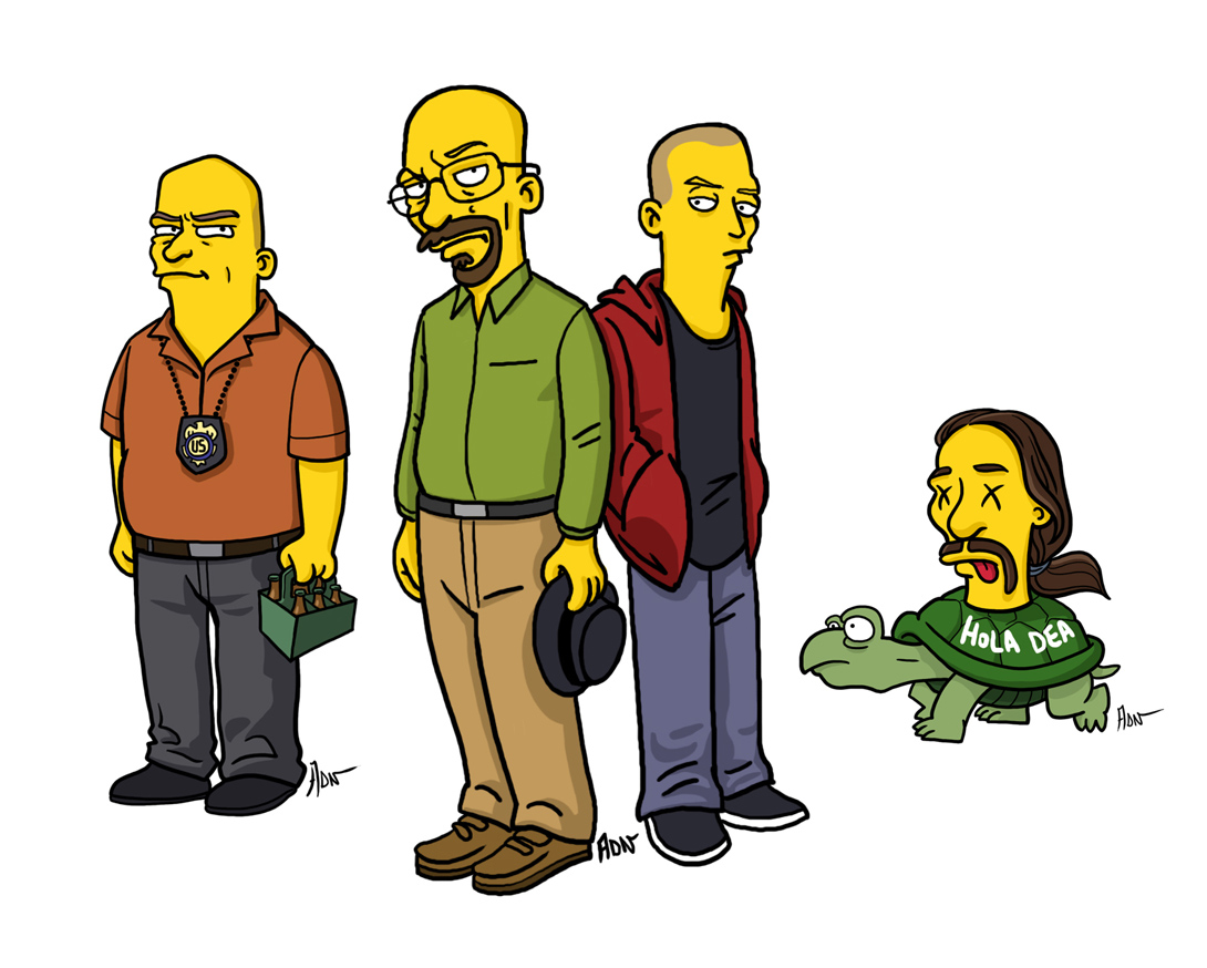 """See Your Favorite Pop Culture Characters As """"Simpsons"""""""