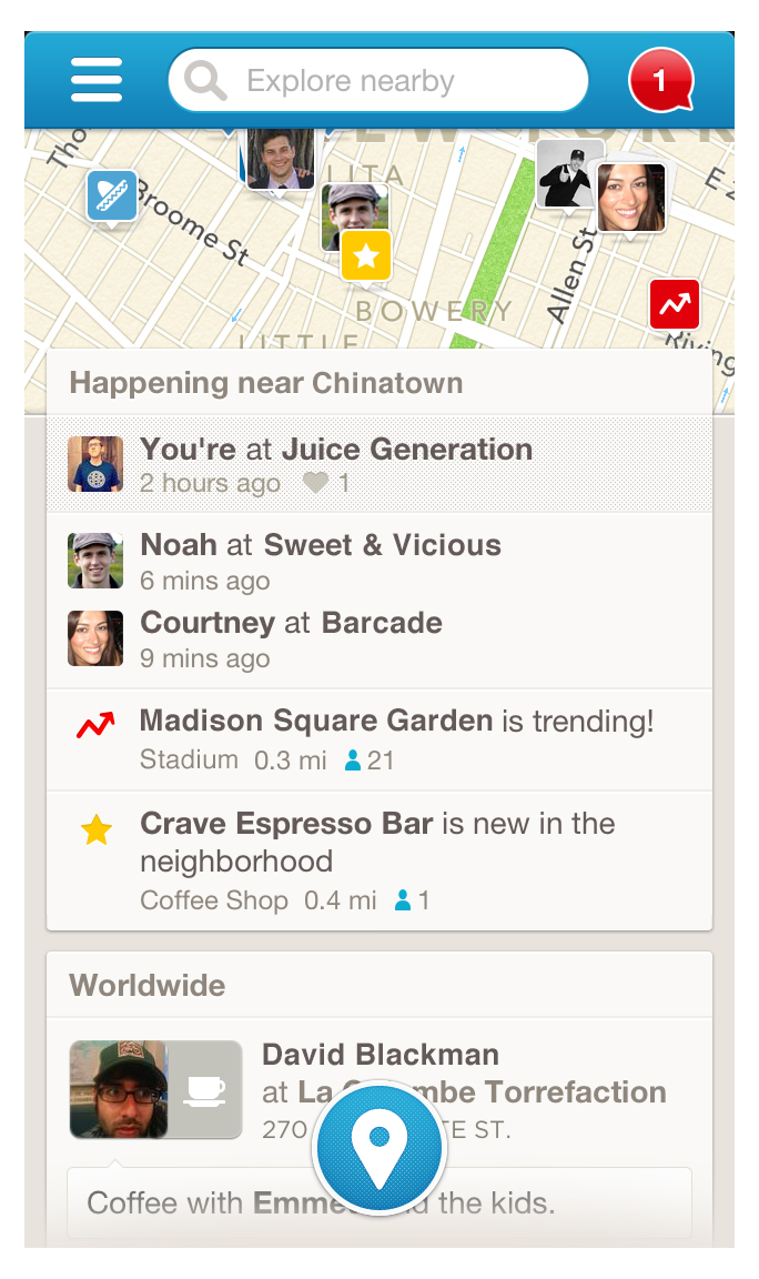 Foursquare Rethinks iPhone App To Focus On Search, Discovery