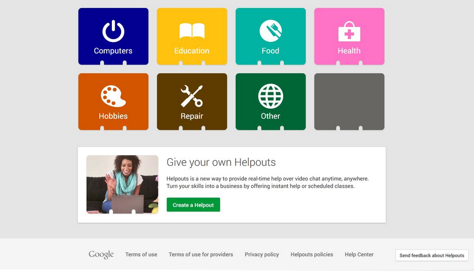 """Soon You'll Be Able To Sell Your Skills On Google """"Helpouts"""""""