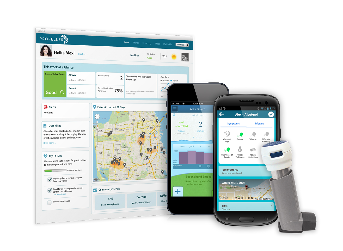 Propeller Keeps Asthmatics Out Of The ER By Harnessing The Internet Of Things