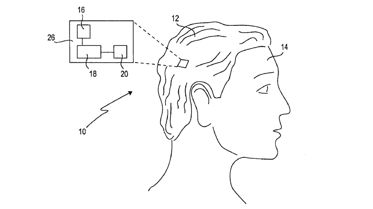The Future of Wearables, According to Sony, Is a Smart Wig (With Lasers!)