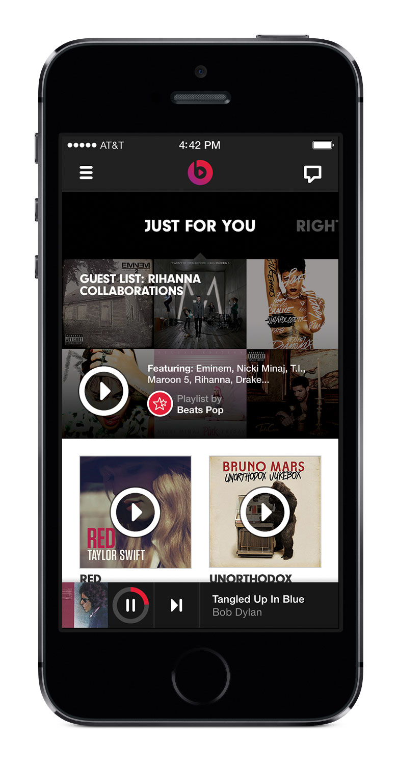 A First Look At How Beats Music Plans to Take on Spotify, Google, and Apple