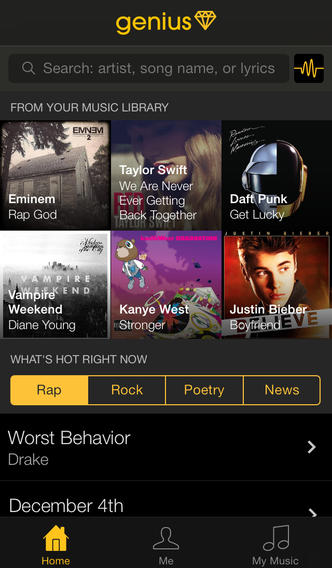 Rap Genius's IPhone App Puts Annotations In Your Pocket