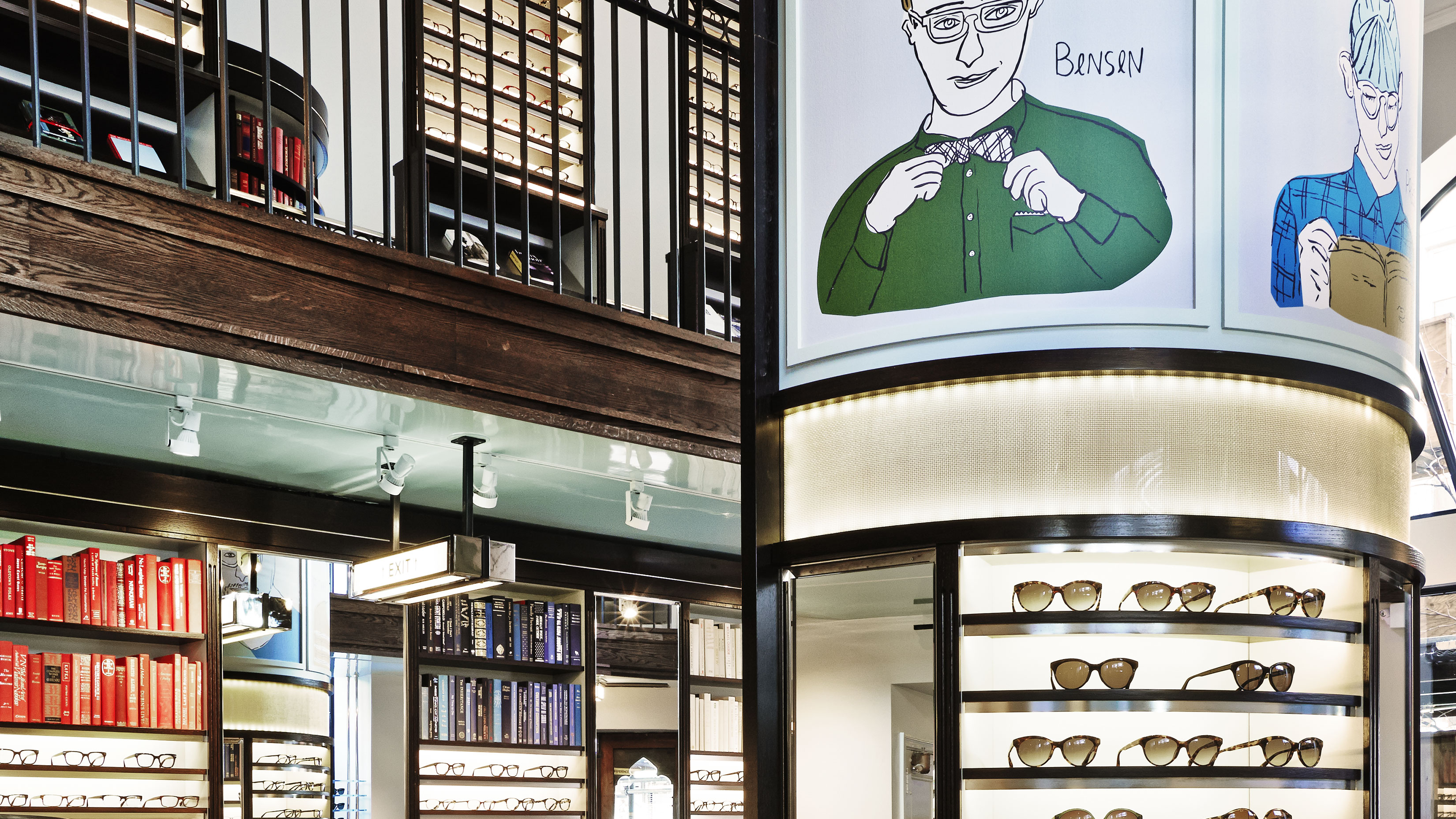 Warby Parker's New Store Delivers Your Glasses Via Pneumatic Tube