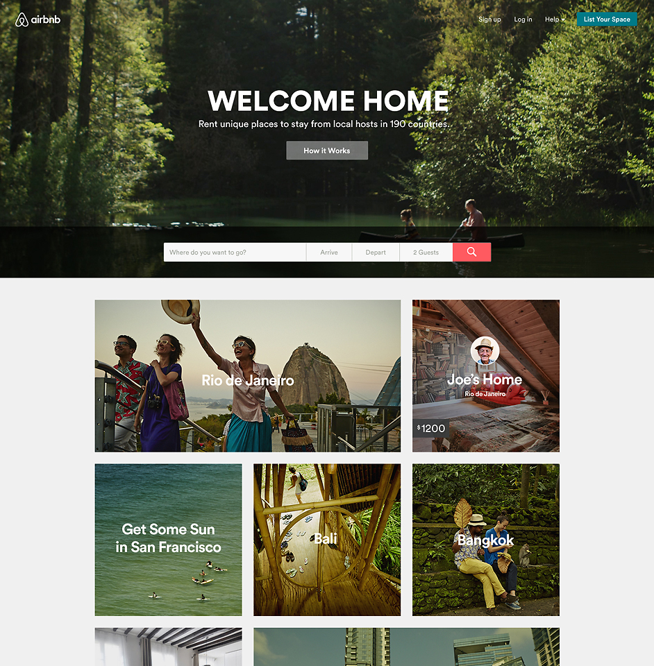 Airbnb Unveils A Major Rebranding Effort That Paves The Way For Sharing More Than Homes