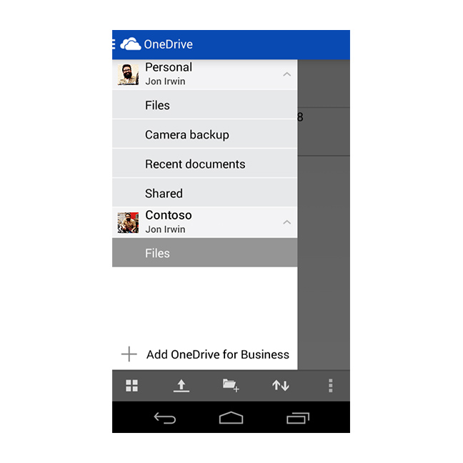 Microsoft Is Fusing The Consumer And Business Versions of OneDrive–Starting With Android