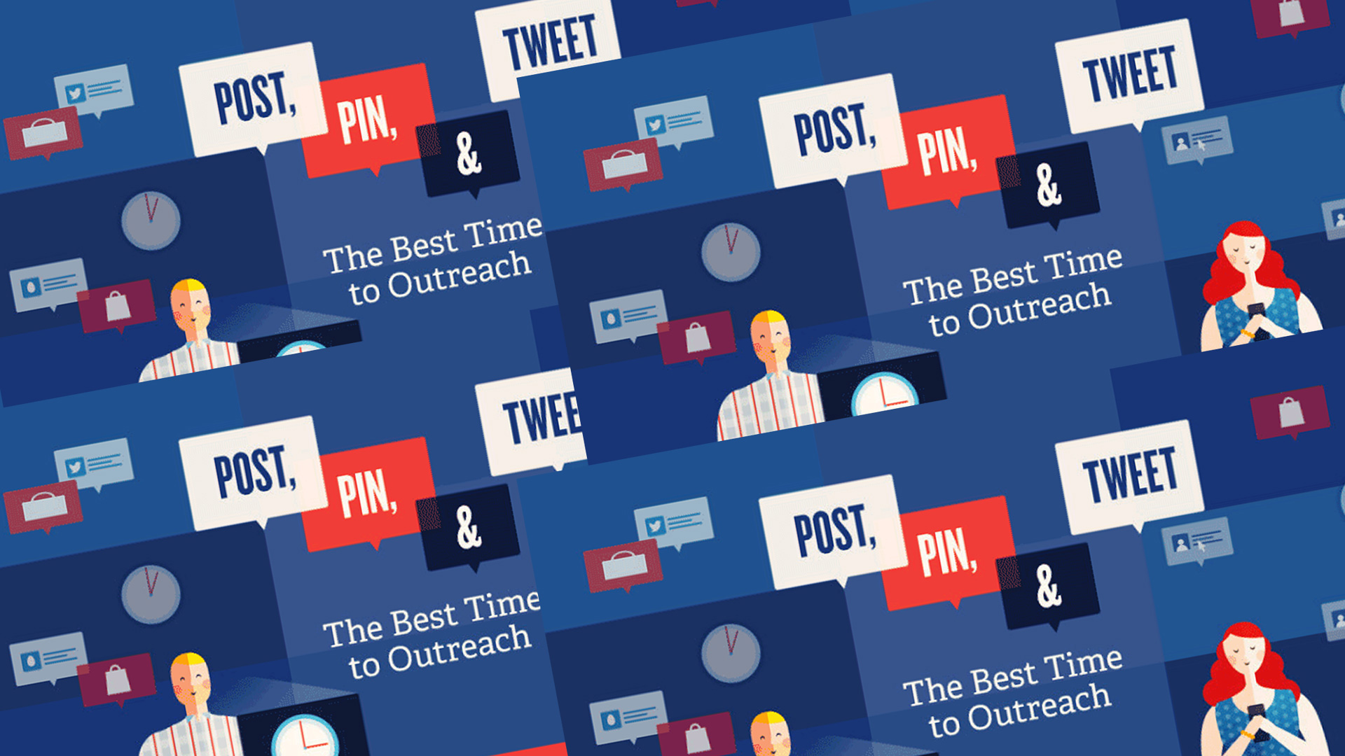 The Best (And Worst) Times To Post On Social Media (Infographic)