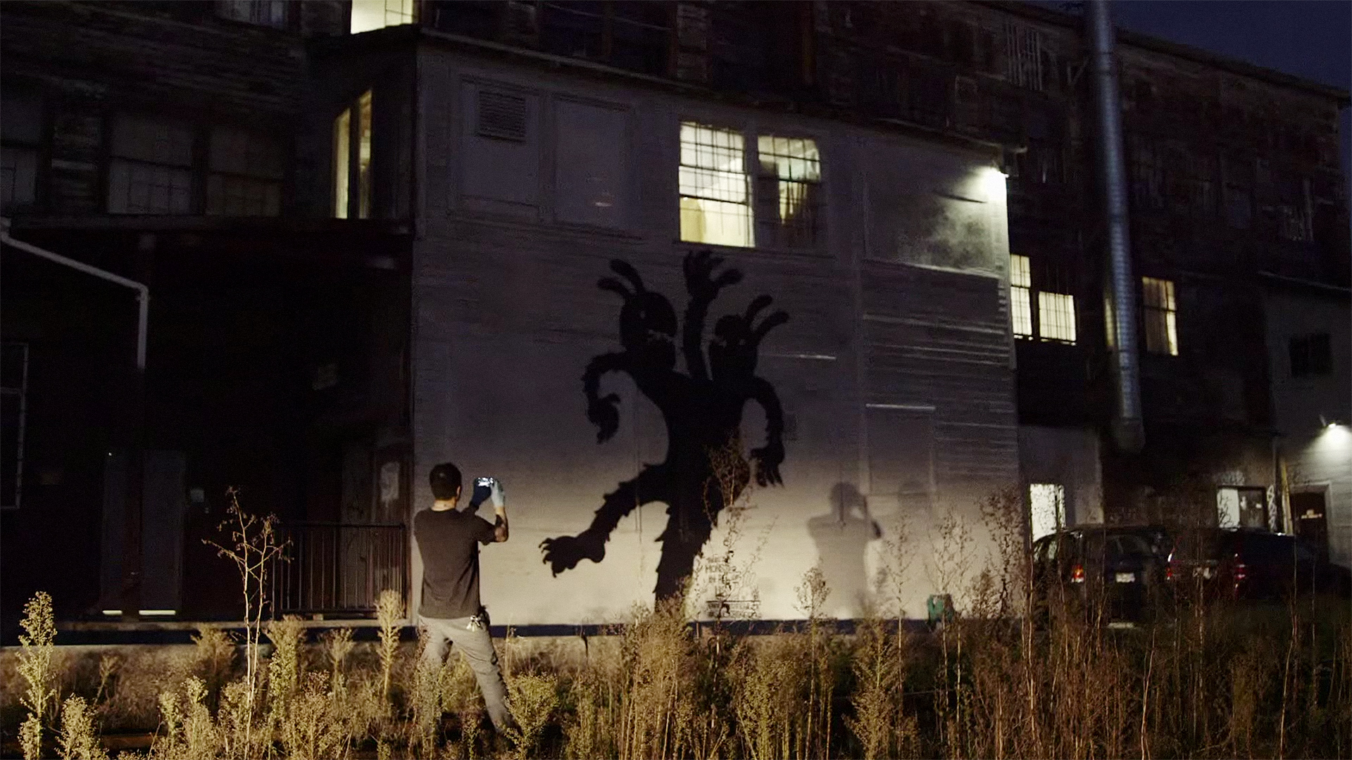 Graffiti Artists Bring Their Inner Demons To The Street To Promote A New Opera About Bullying