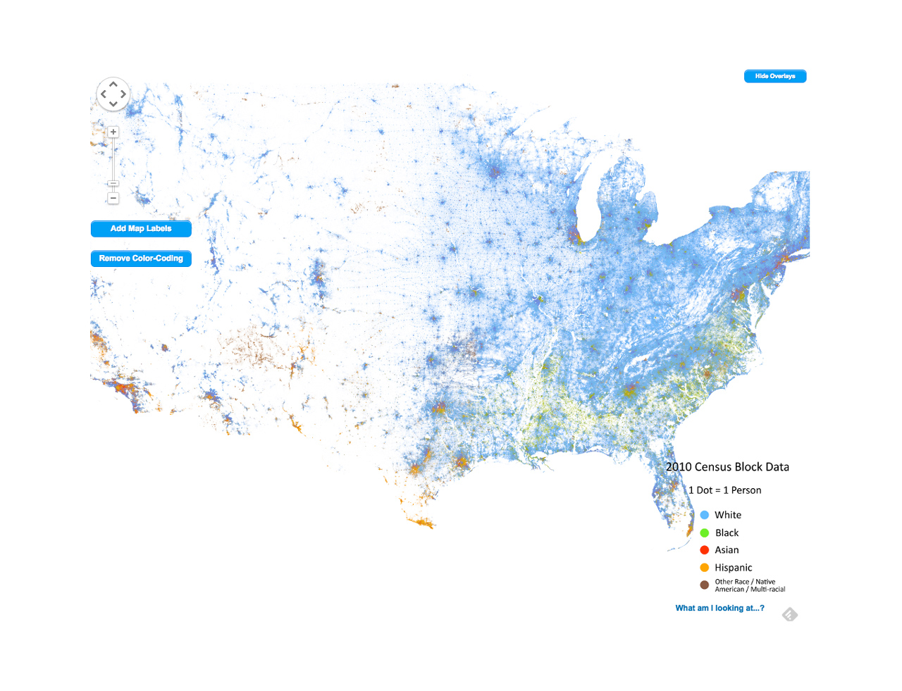 The Racial Profile Of Every Neighborhood In America, Mapped