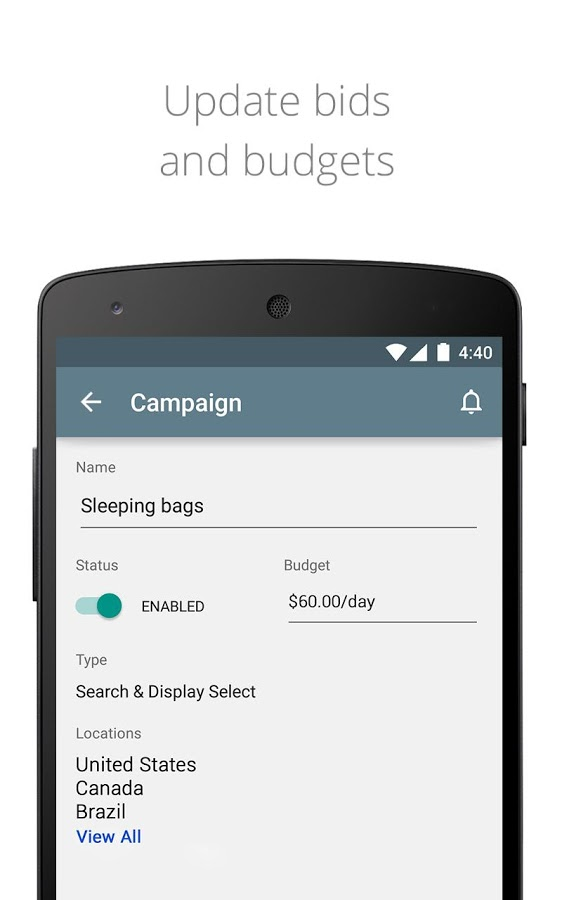 New Google AdWords App Lets You View Ad Analytics On The Go