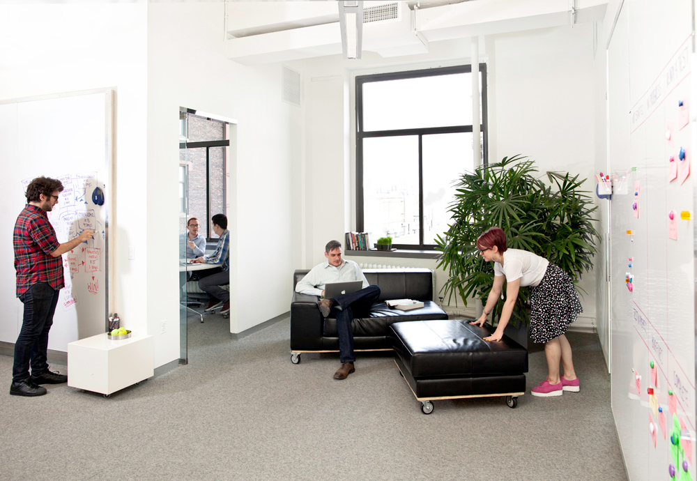 Designing A Happier Office On The Super Cheap