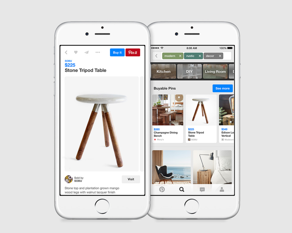 With Buyable Pins, Pinterest Finally Adds Built-In Commerce