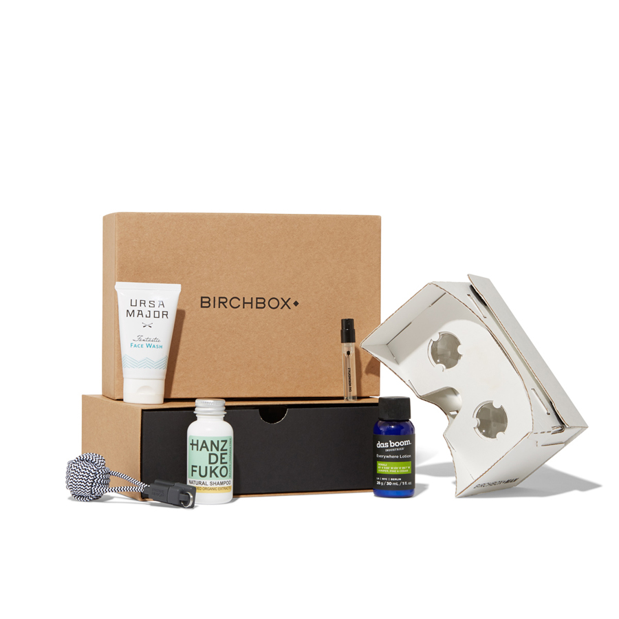 Birchbox's Strategy For Hooking Men On Grooming Supplies
