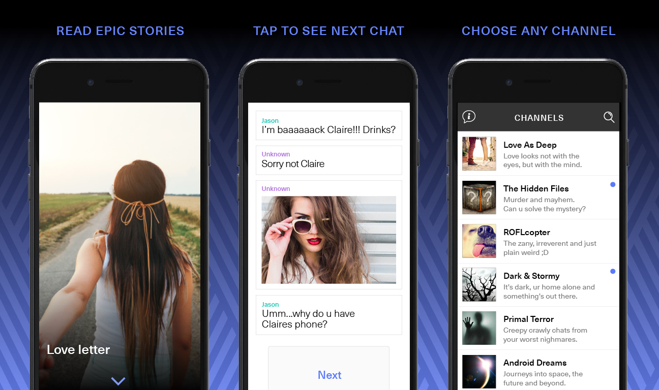 This New Fiction App Delivers Original Stories In The Form Of Text Messages