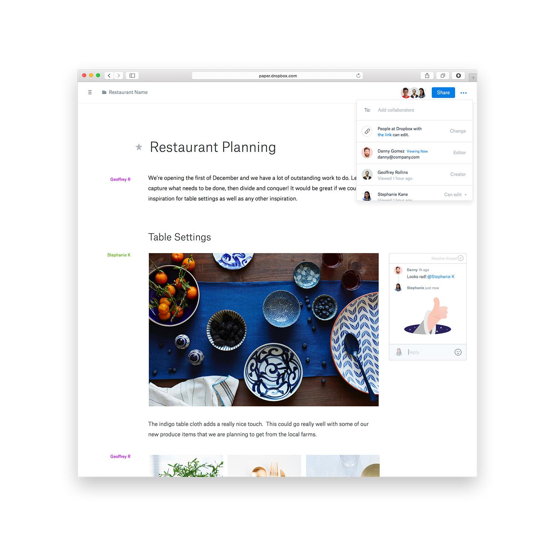 Meet Dropbox Paper, Dropbox's New Approach To Collaboration