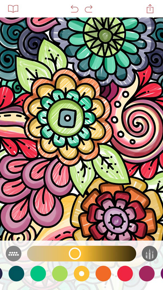 This Coloring Book App Will Help You Stay Relaxed And Foc