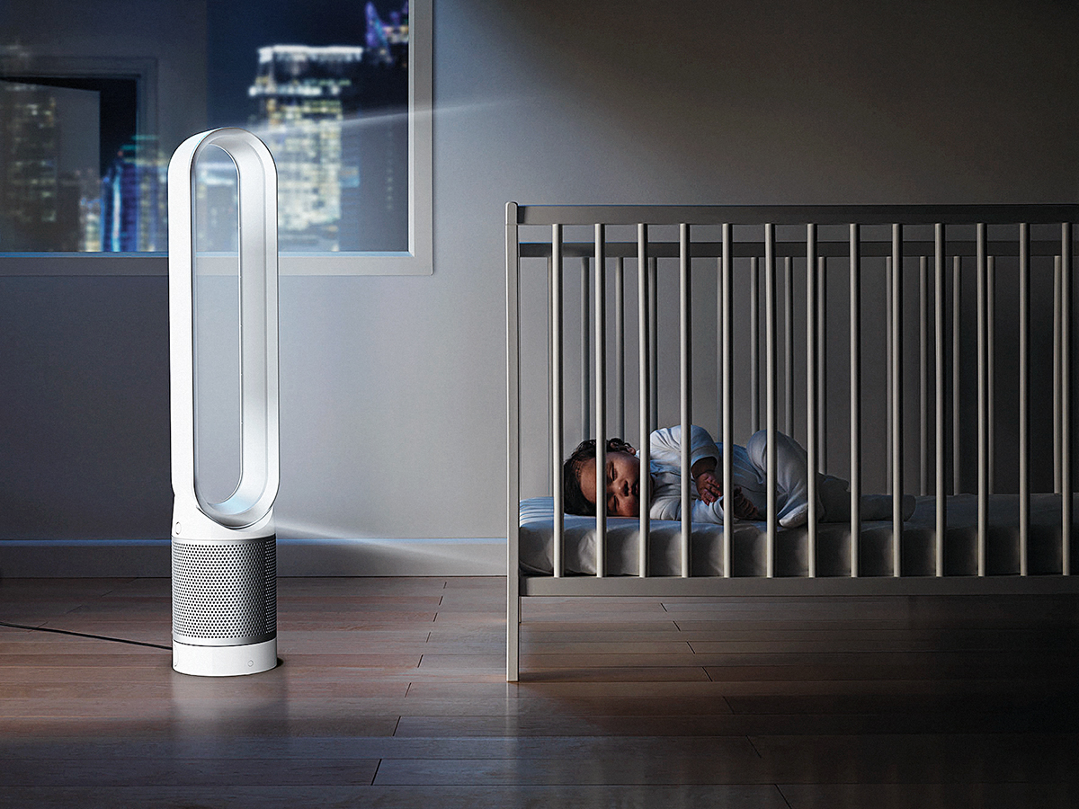 See How Clean (Or Toxic) Your Home's Air Is With Dyson's New App-Connected Purifier