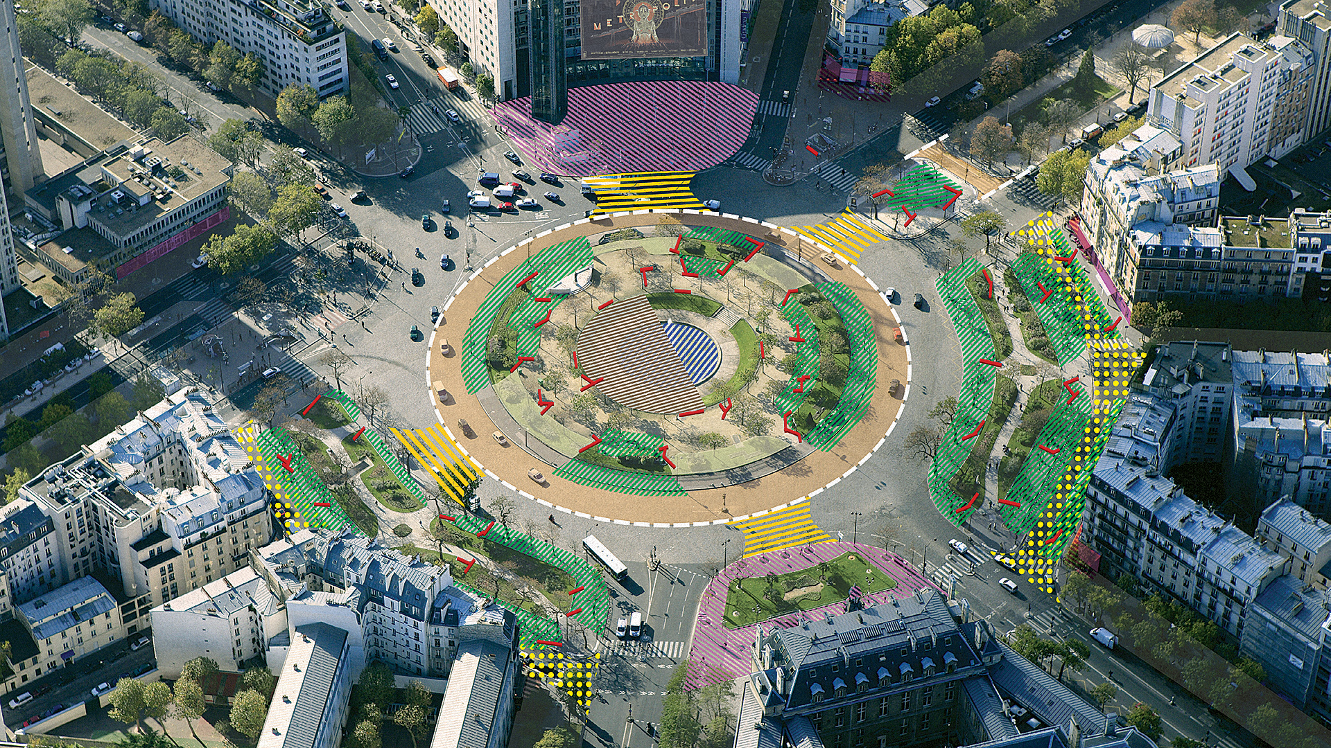 Paris Is Redesigning Its Major Intersections For Pedestrians, Not Cars