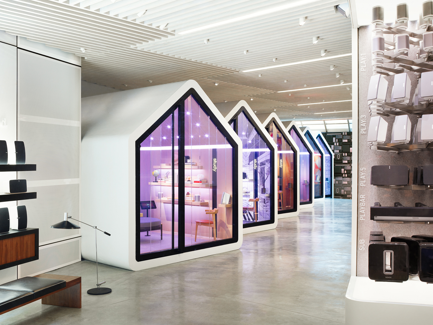 Sonos Designed Its New Store To Feel–And Sound–Like Your Home