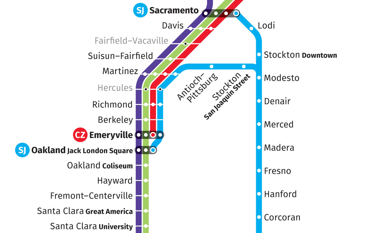 This Redesigned Map Of US Train Routes Might Make You Actually Want - Map of us train routes