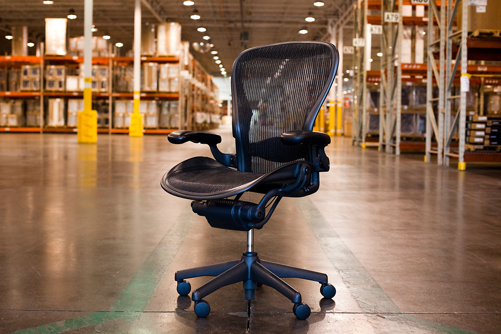 an american-made miracle: how an aeron chair gets built every 17 secon
