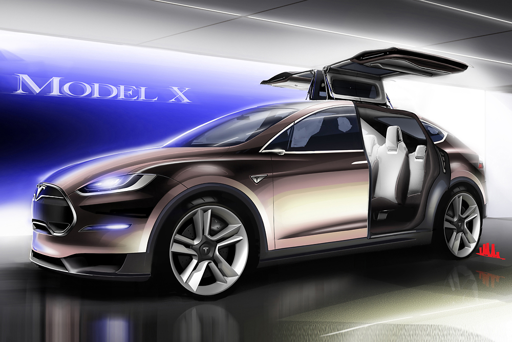 & Tesla Model X And The Curse Of Gull-Wing Doors pezcame.com