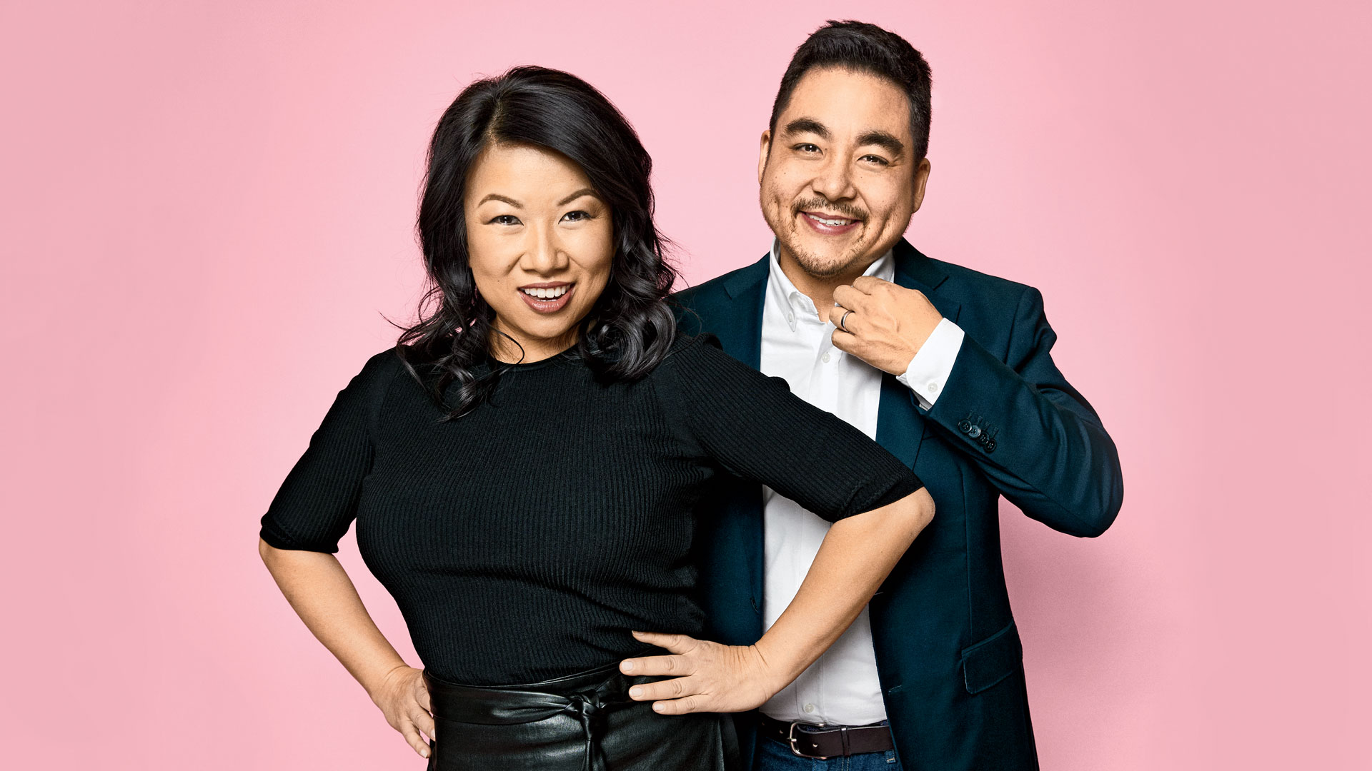 Zola cofounders Shan-Lyn Ma and Nobu Nakaguchi. [Photo: Aaron Richter]