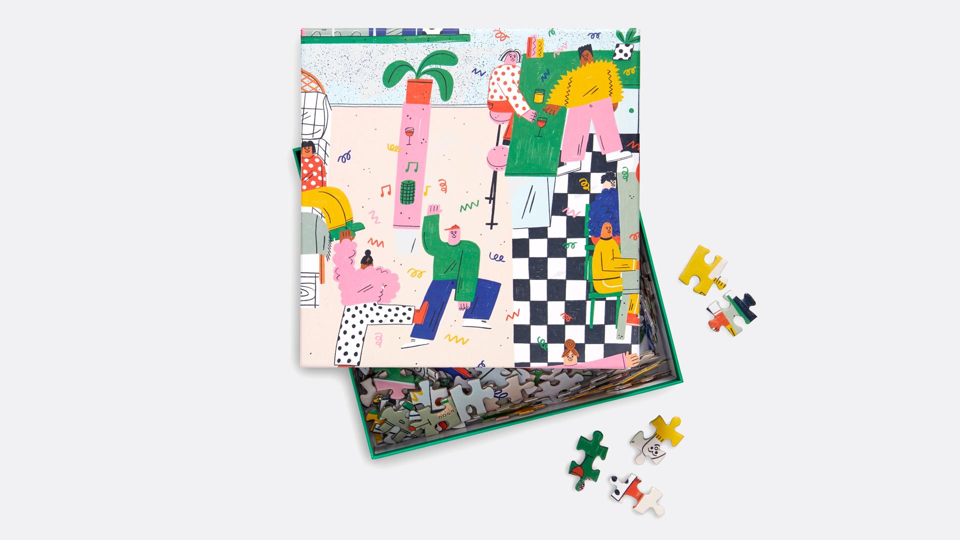 Brooklinen Party Puzzle