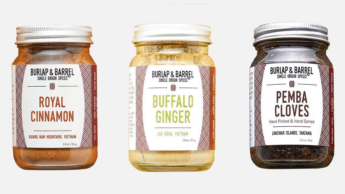 Burlap and Barrel Spice Set