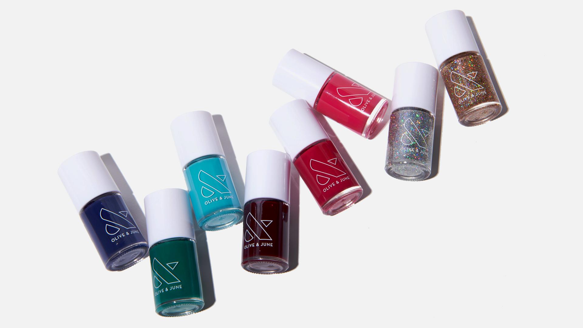 Olive and June manicure sets
