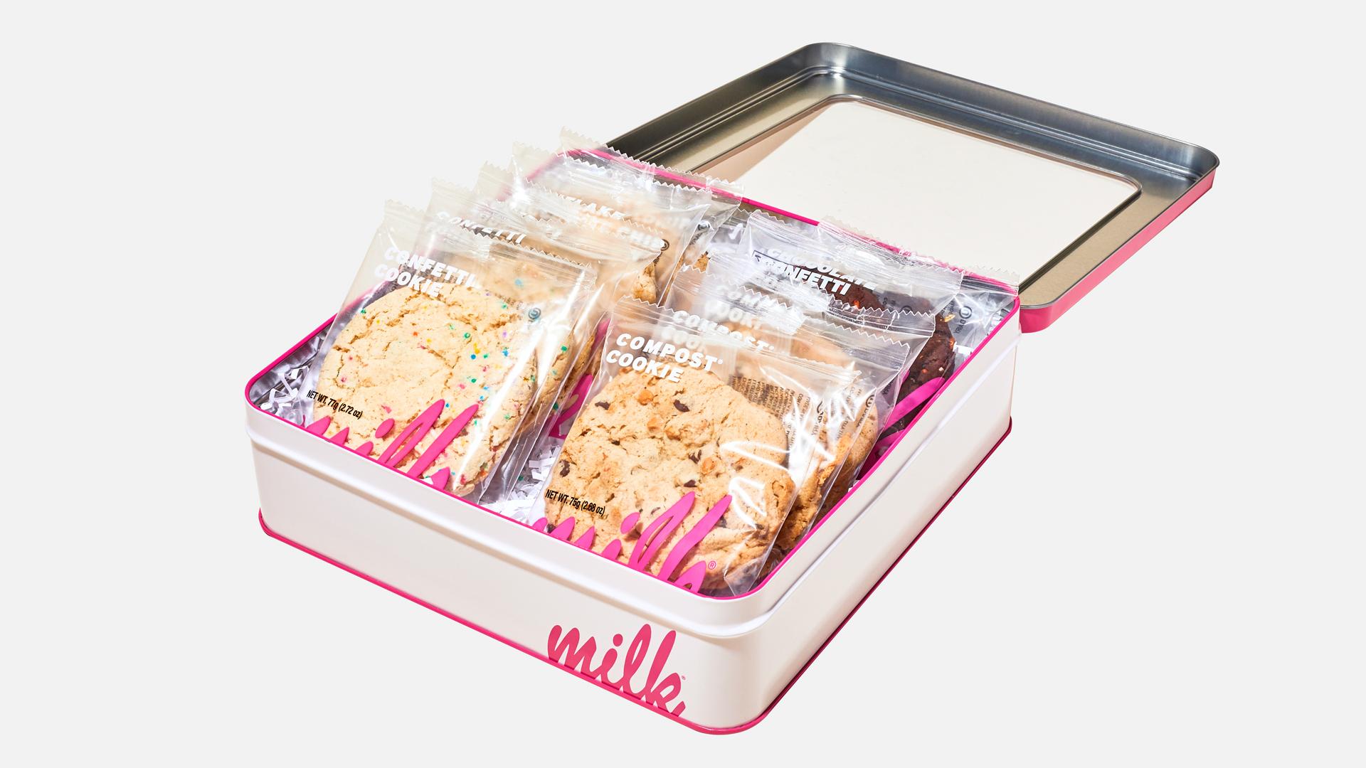 Milk Bar the Cookie Faves Tin