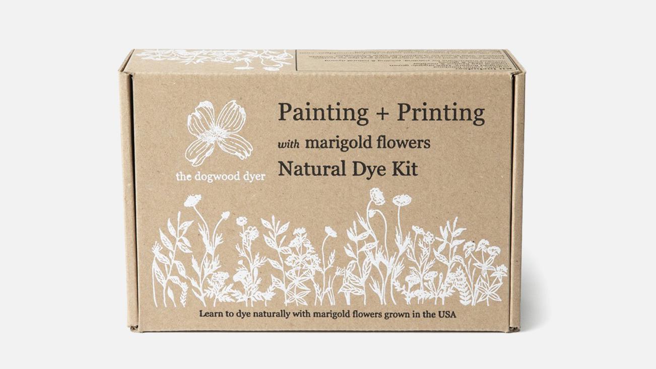 The Dogwood Dyer Merigold tie-dye kit