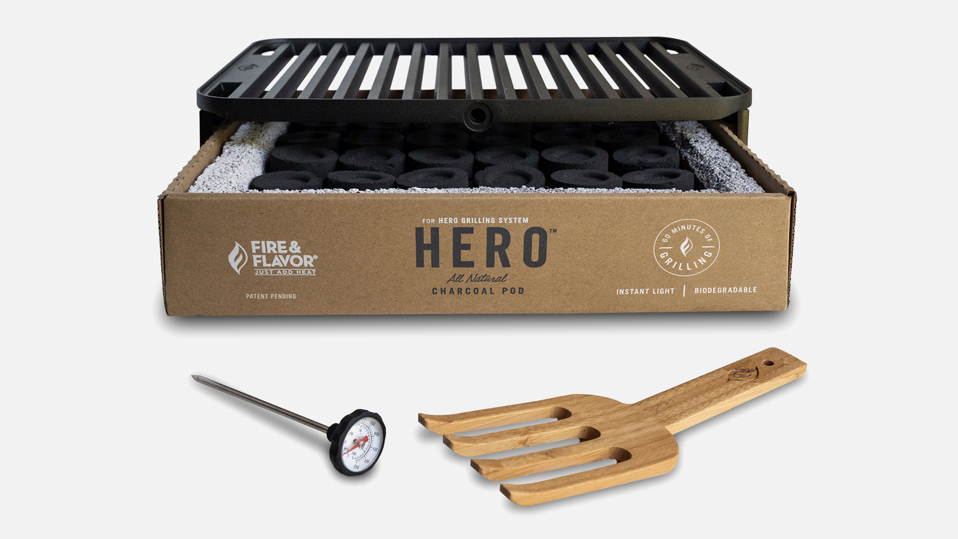 Fire and Flavor HERO Grill