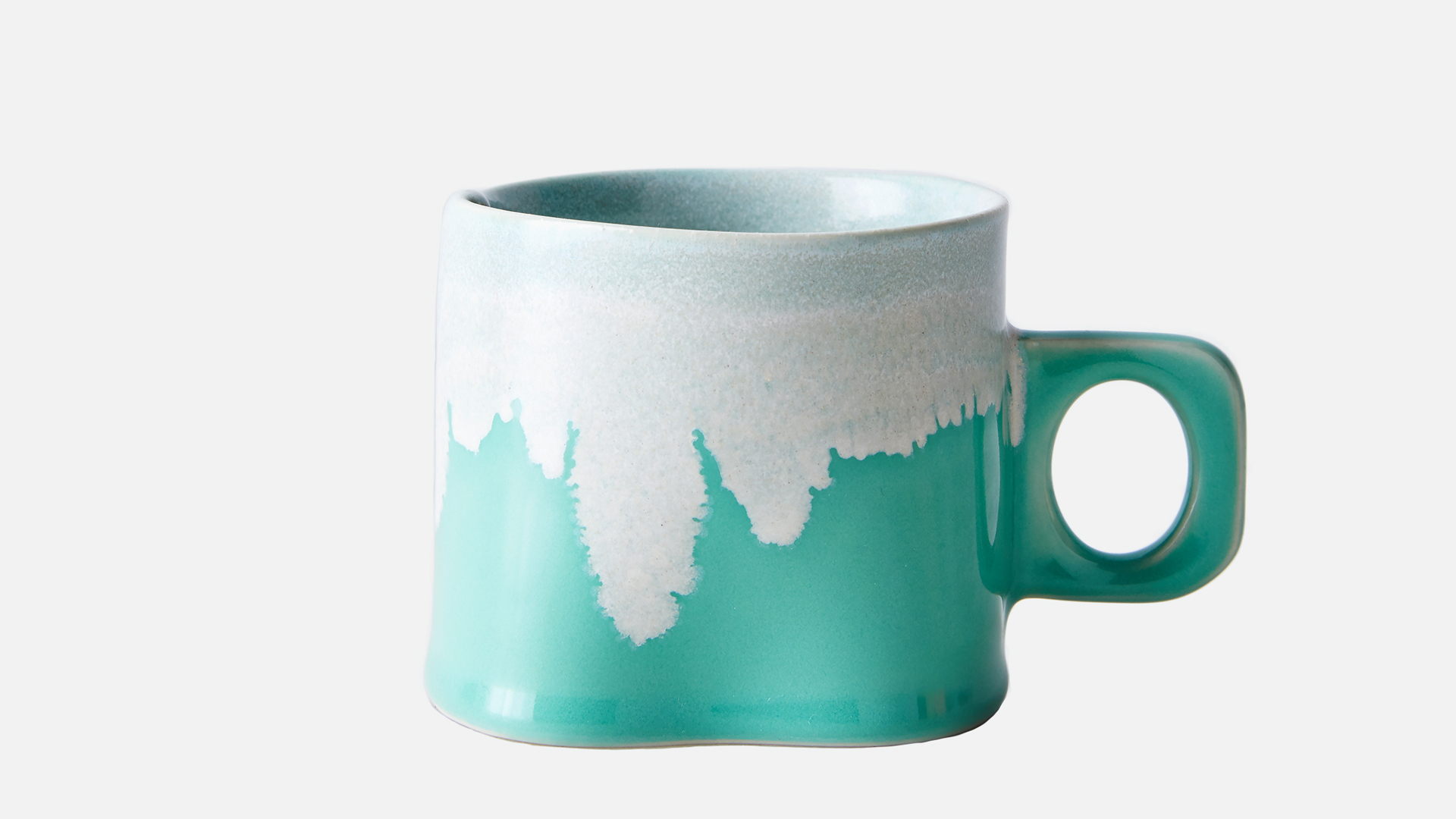 Wilcoxson Brooklyn Ceramics Handmade Drip mugs