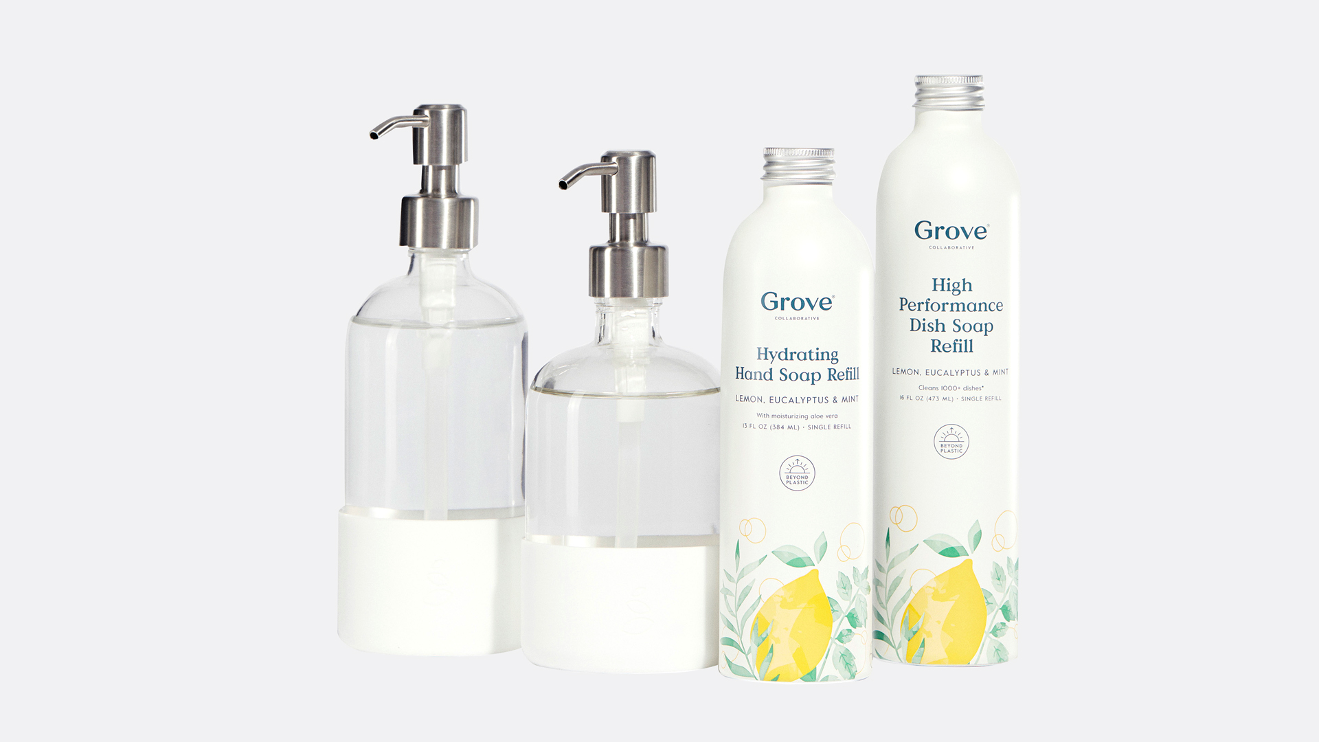 Grove Collaborative Hydrating Hand and Dish Soap Duo