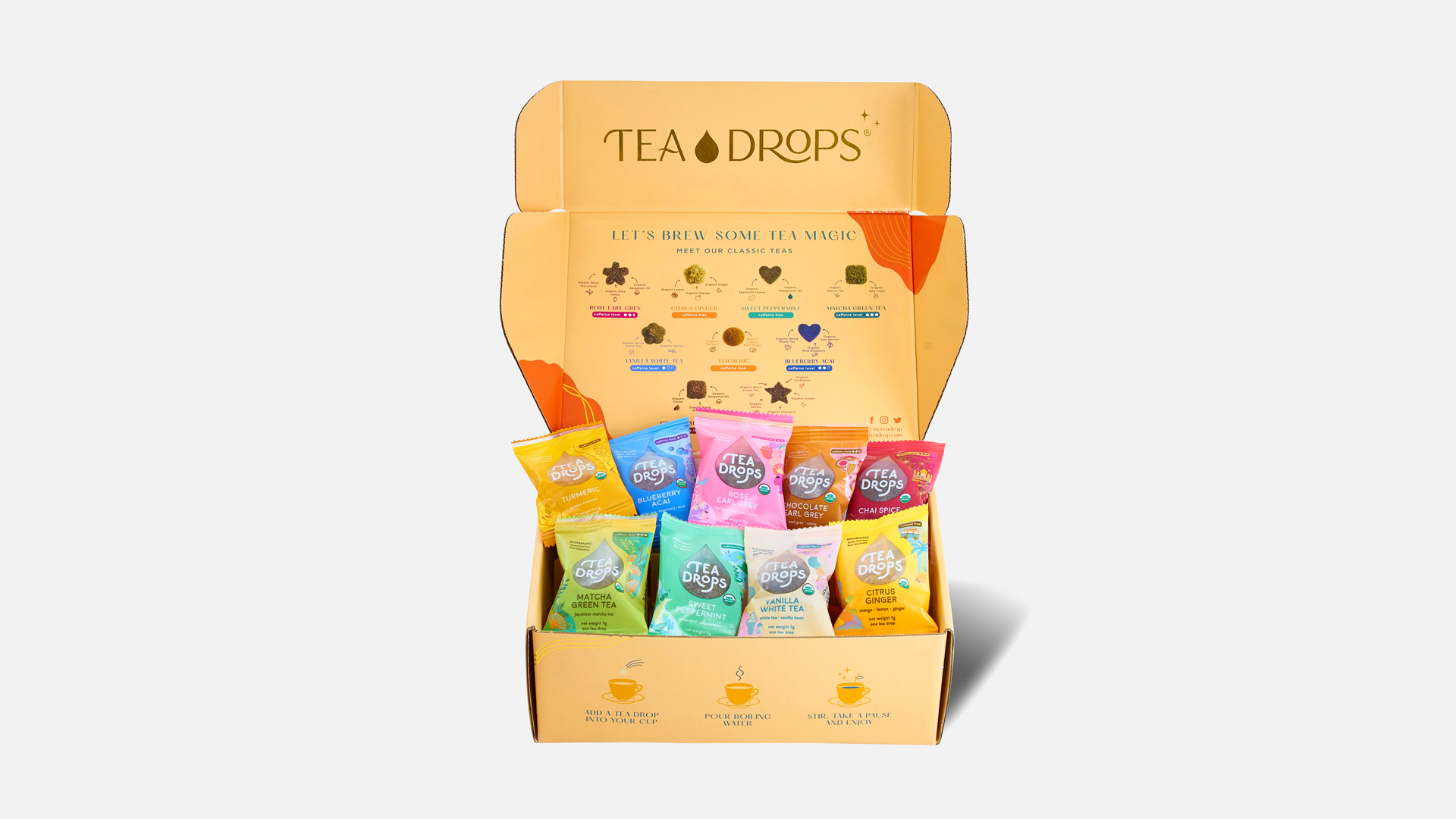 Tea Drops Ultimate Sampler Kit