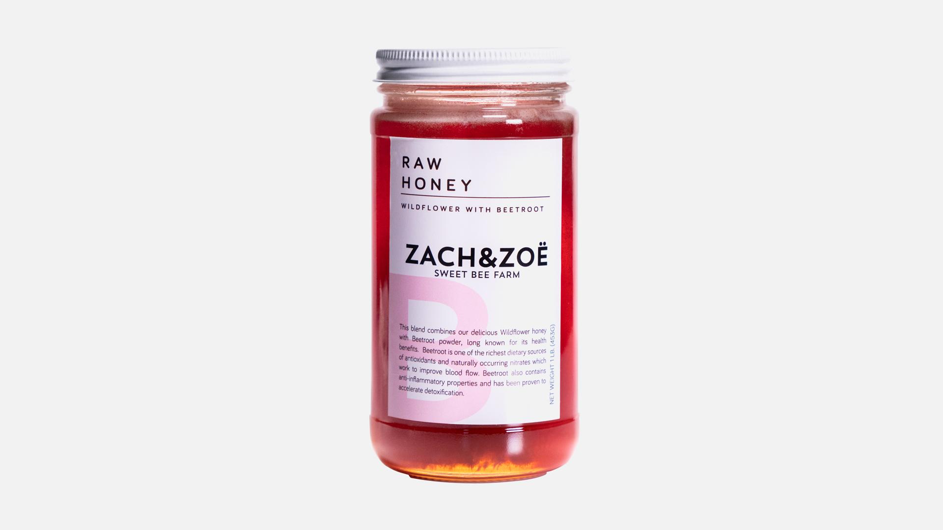 Zach and Zoe Beetroot Honey