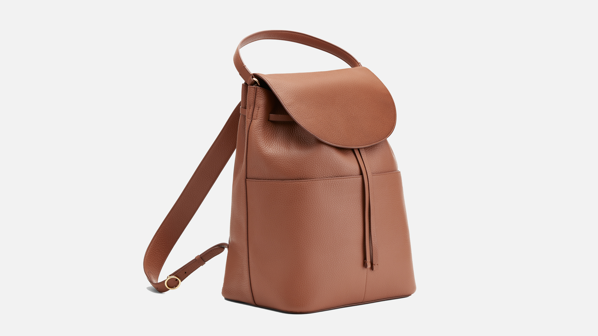 Cuyana Large Leather Backpack