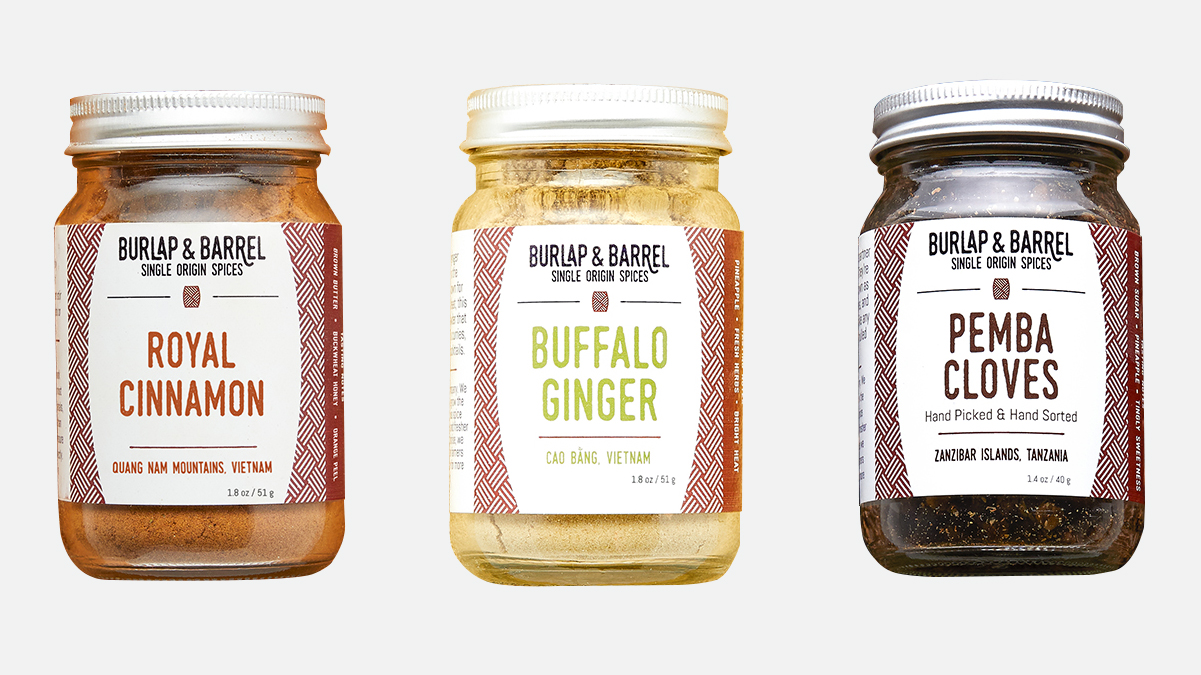 Burlap and Barrel Chef's Choice Spice Collection