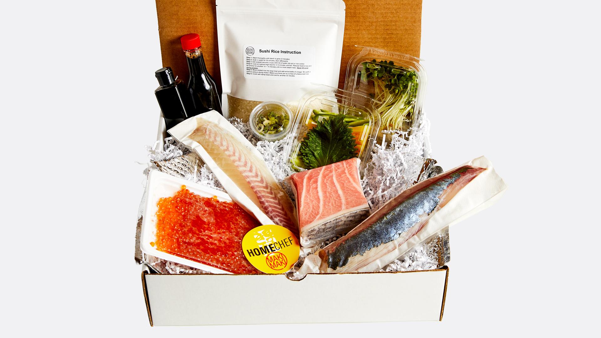 HomeChef byMakiMaki sushi kit