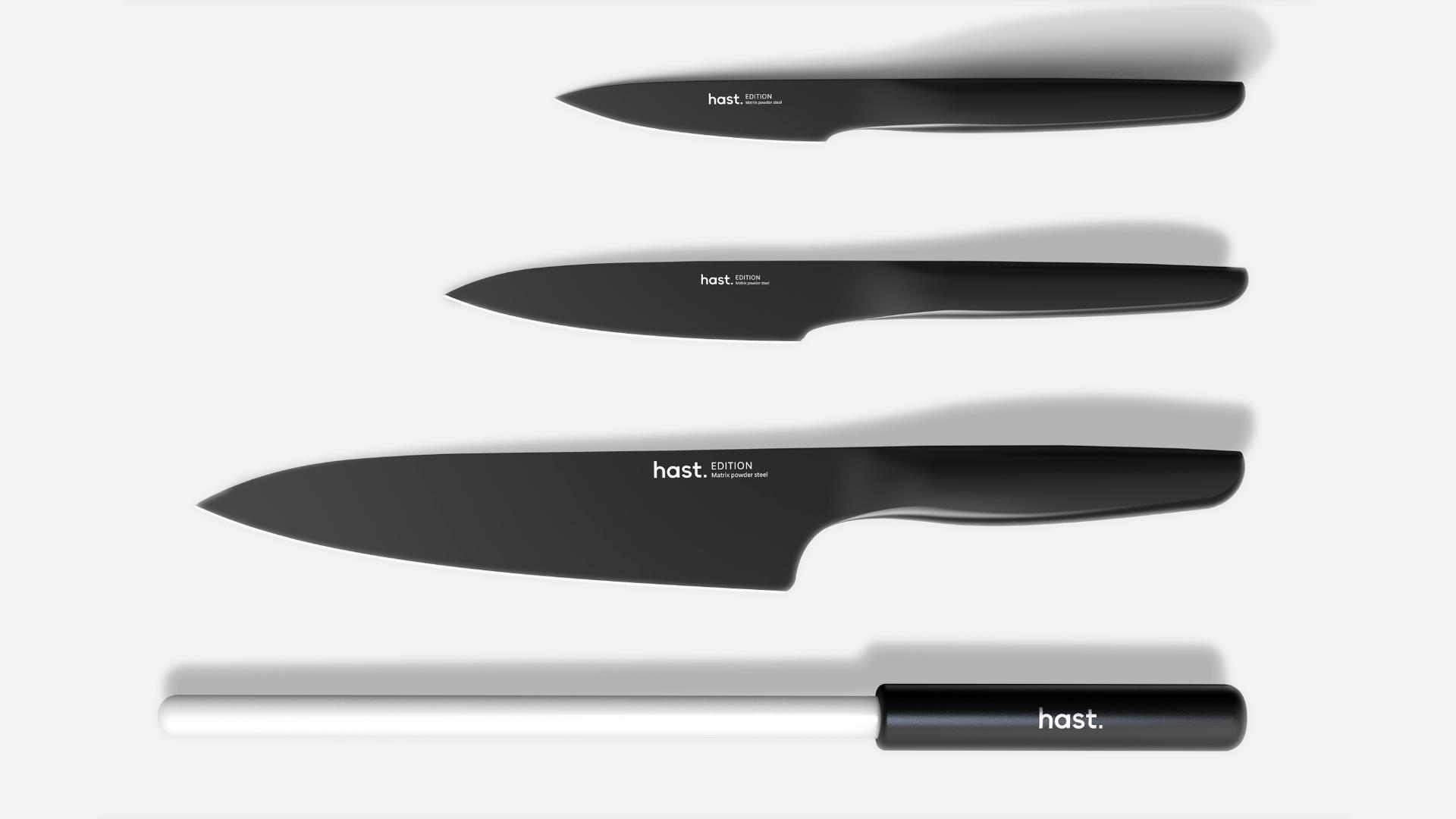 Hast 4-piece Kitchen Knife Set