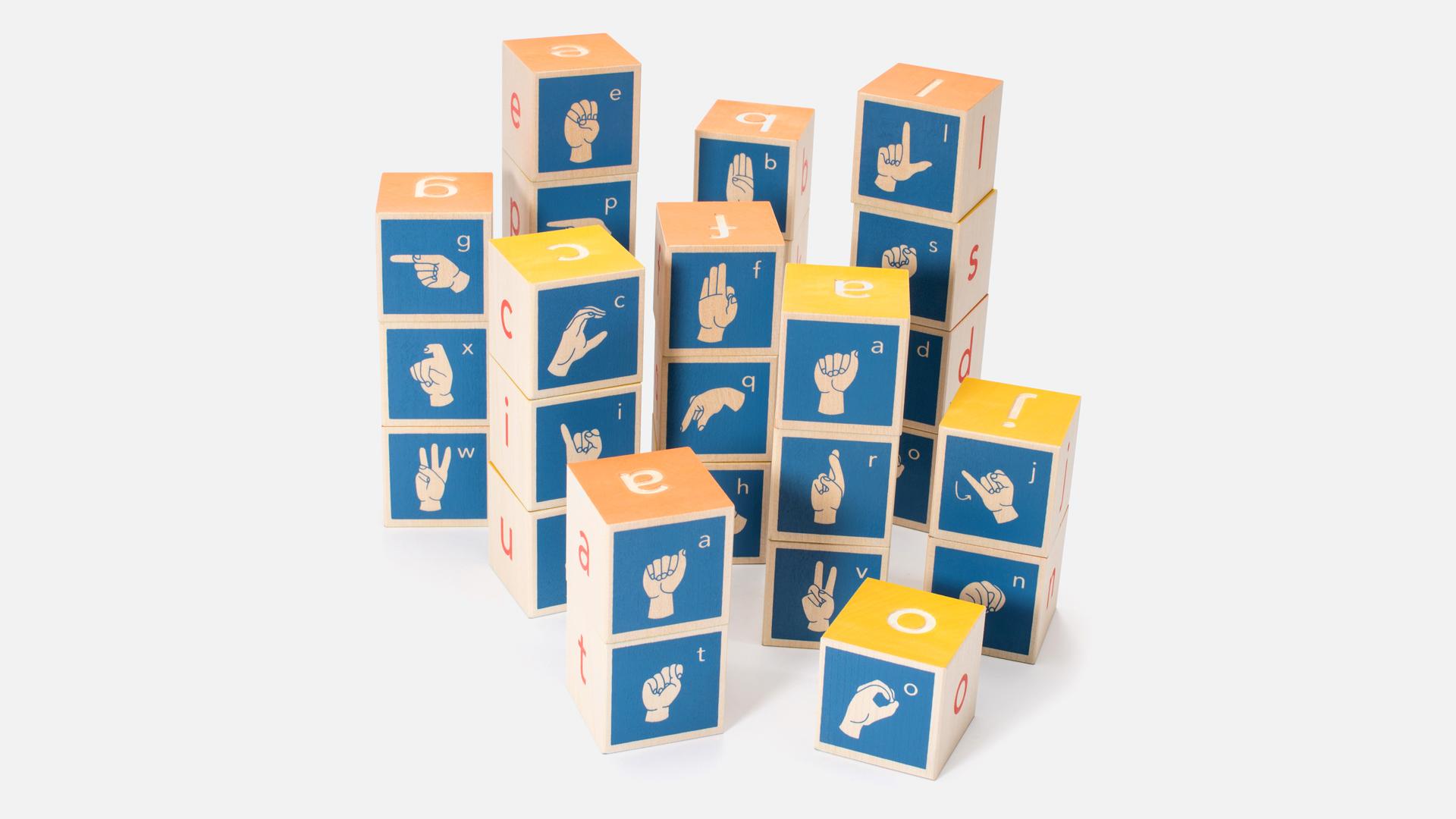 American Sign Language Blocks