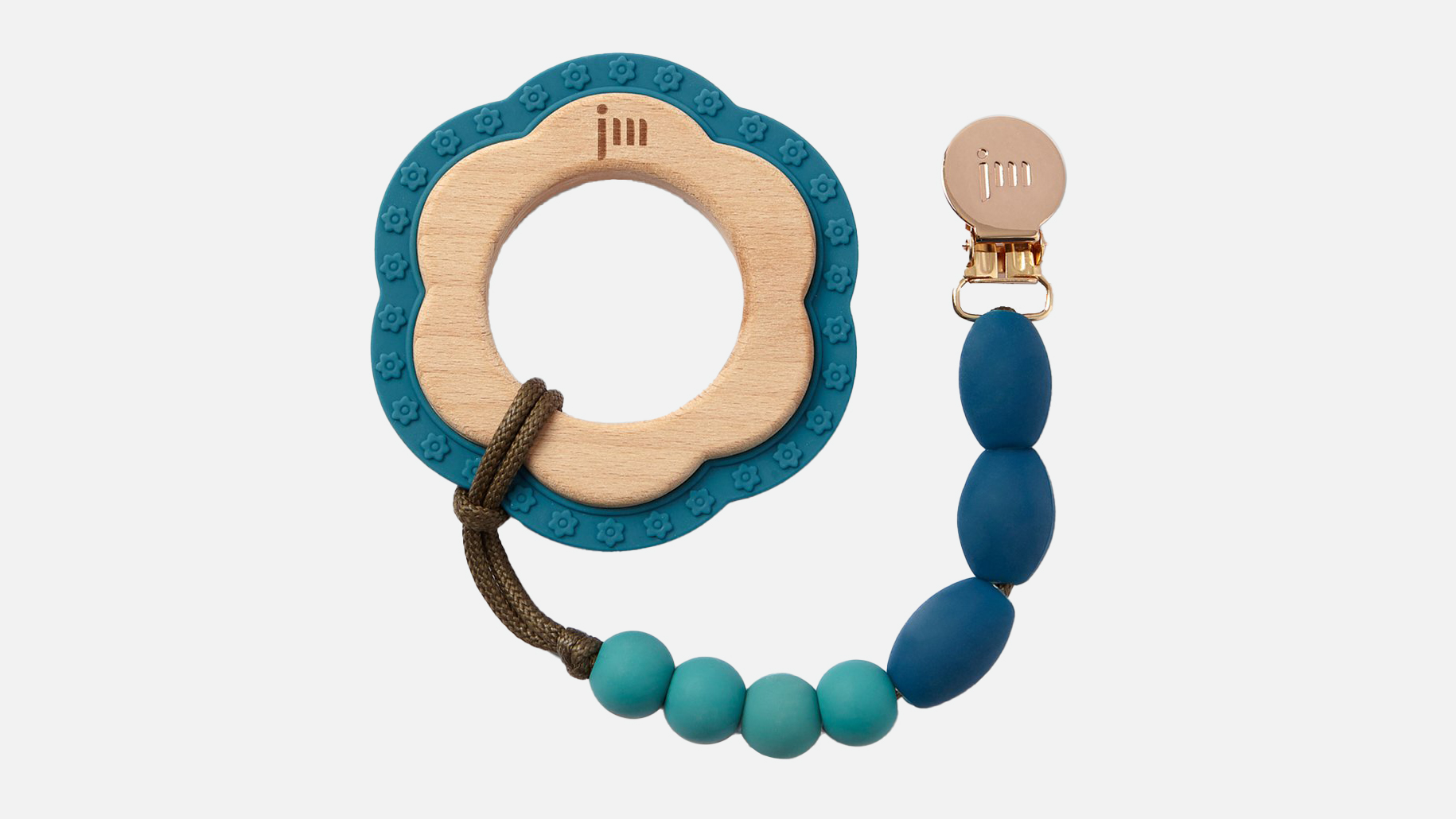 Ocean Teether + Clip Set
