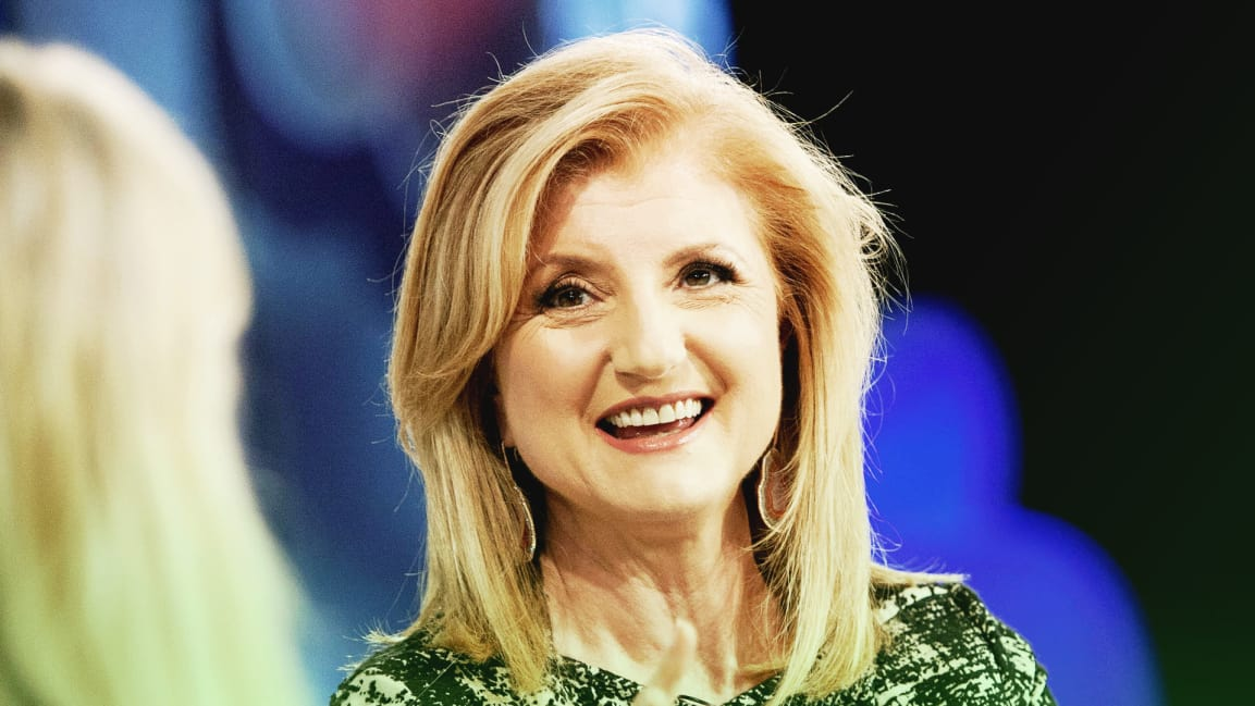 Arianna Huffington's sleep routine