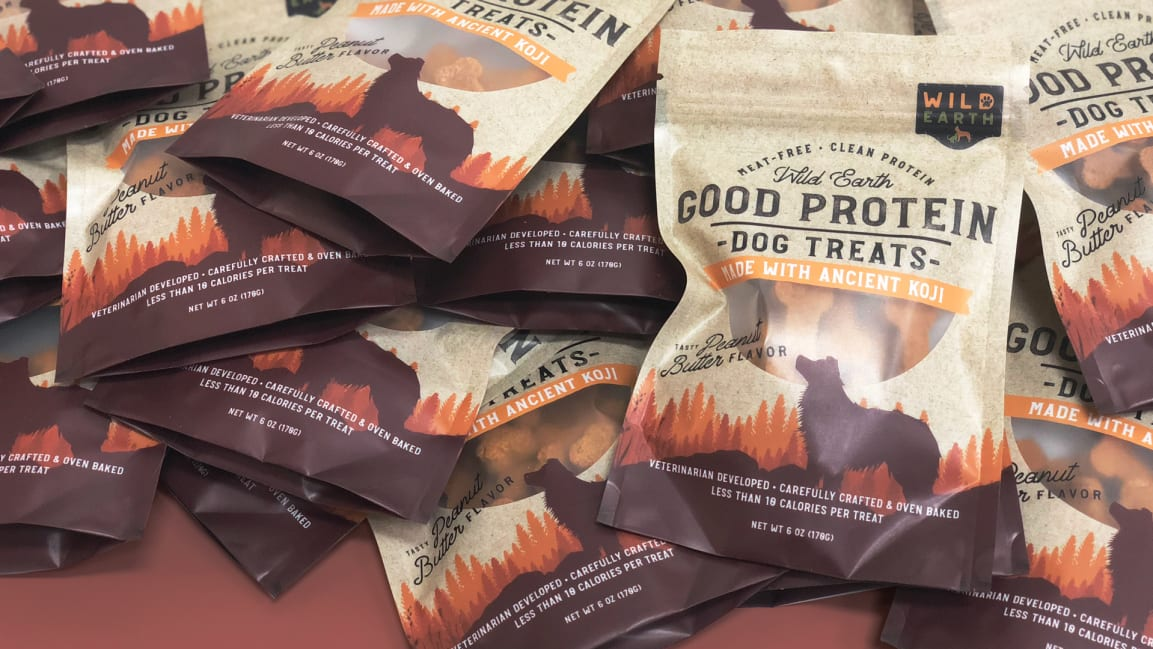 This biotech startup is growing protein-rich vegan pet food in a lab