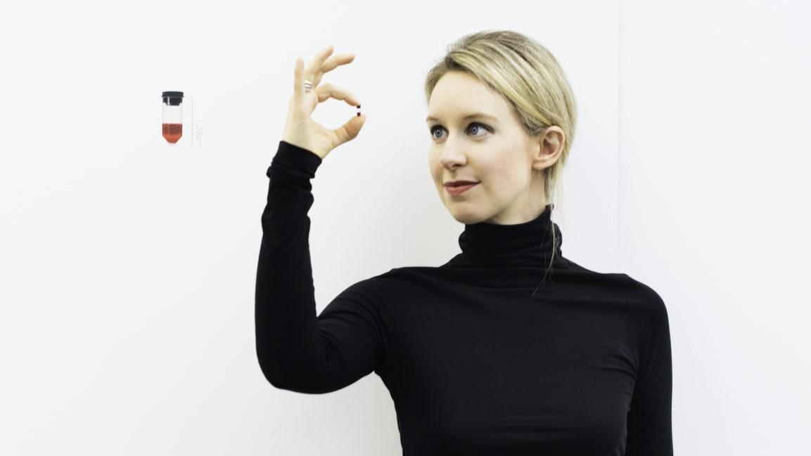 Elizabeth Holmes [Photo: courtesy of HBO