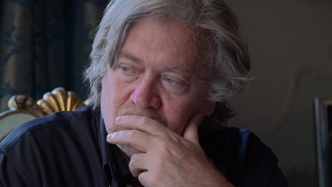 Steve Bannon in The Brink .